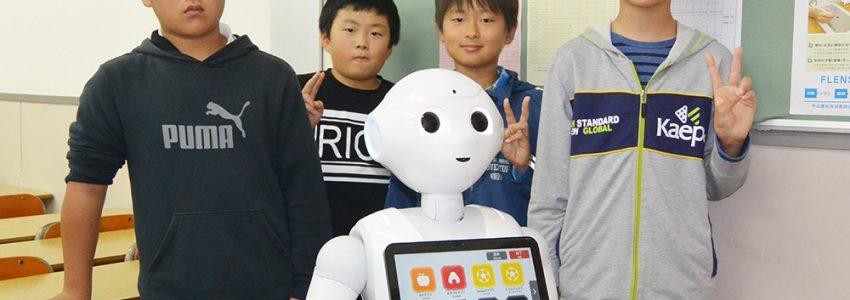 Pepperと学ぶPプログラミング11/25(日)無料体験&説明会実施!