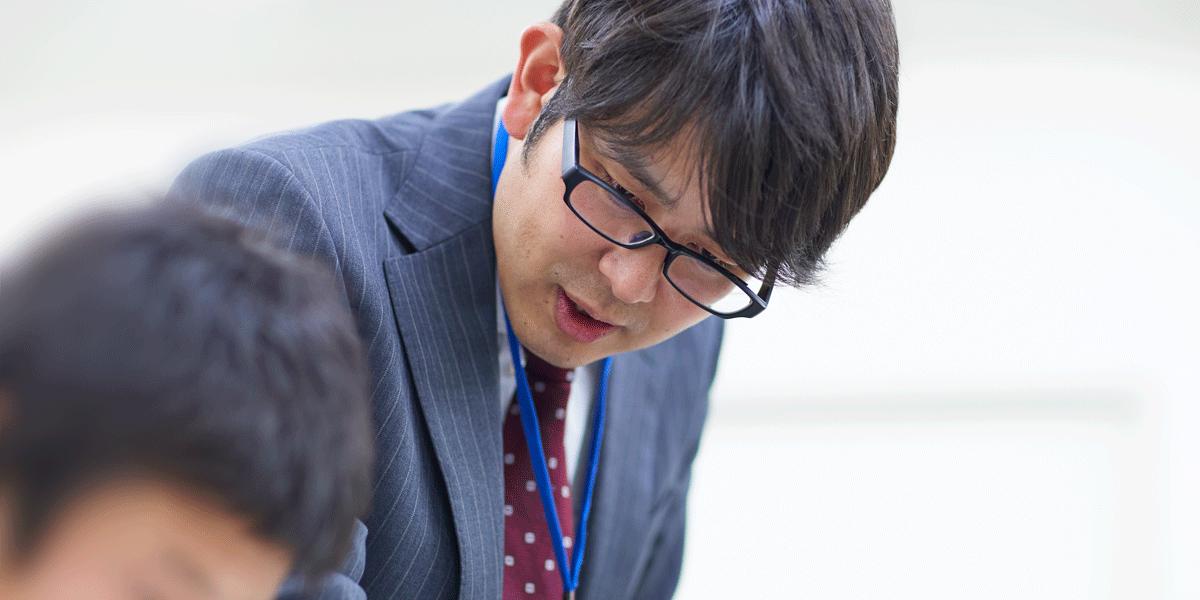 伊川谷校 校舎長 平尾先生